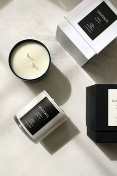 Ipanema Candle - Santal Sea Grass Musk Black Coconut Candle inspiration for Karen Gilbert. Candle Logo, Candle Branding, Candle Packaging, Candle Labels, Candle Jars, Candle Holders, Black Candles, Soy Candles, Scented Candles