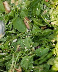 mixed greens salad with honey dijon dressing