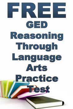 Free GED Reasoning Through Language Arts Practice Test  http://www.mometrix.com/academy/ged-ela-practice-test/