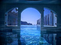 View from Pool - Picture of Hotel Villa Fraulo, Ravello - Tripadvisor Beautiful World, Beautiful Places, Pool Picture, Cool Pools, Blue Aesthetic, Nice View, Pretty Pictures, Scenery, Destinations