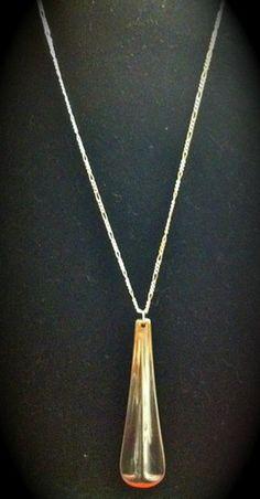 Spoon handle pendant.  Just listed on Ebay!