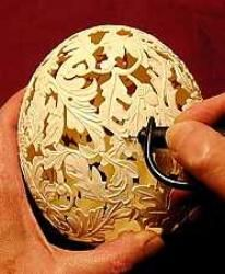 Egg carving...info found HERE: http://www.theeggshellsculptor.com/the-carving-process/