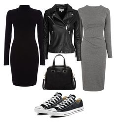 """""""Untitled #237"""" by rowan-na-daw ❤ liked on Polyvore featuring Whistles, Converse, Furla, Phase Eight and IRO"""