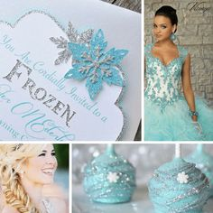 Frozen Theme   Winter Quince Theme   Quinceanera Party Planning  
