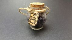 Harry potter potion inspired christmas ornament- Bane Berry Poison