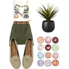 R.I.P. Diet by lolyinthesky on Polyvore featuring moda, Vero Moda and CB2