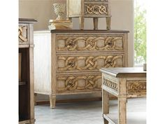 Hooker Furniture Living Room Three-Drawer Chest 656-85-122
