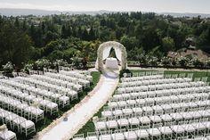 Inspiration mariage de luxe : la cérémonie