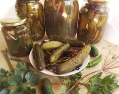 Pickles, Cucumber, Diy And Crafts, Food, Canning, Salads, Eten, Pickle, Pickling