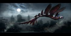 ArtStation - Occamy Idea's for Fantastic Beasts., Dan Baker