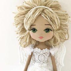 handmade doll, handmade doll australia, angel doll, upper dhali