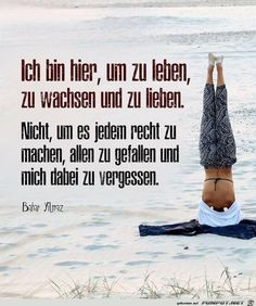 Ideas sport quotes love life for 2019 Yoga Quotes, Motivational Quotes, Learn German, Sport Quotes, Beautiful Mind, Love Your Life, Real Life, Life Motivation, Amazing Quotes