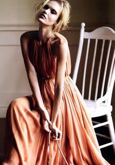 Salvatore Ferragamo.  Coral Dresses #2dayslook #lily25789 #CoralDresses  www.2dayslook.com
