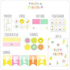 Image of TUTTI FRUTTI PARTY
