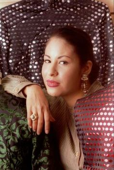 Tejano music star Selena poses in this March 7, 1995, file photo  in Corpus Christi, Texas.