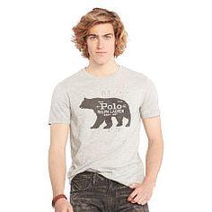 Cotton Jersey Graphic T-Shirt - Big & Tall Tees - RalphLauren.com