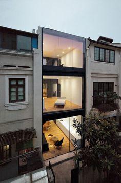 Modern Row House.