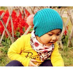 Warm Earflaps Baby's Knitting Wool Caps