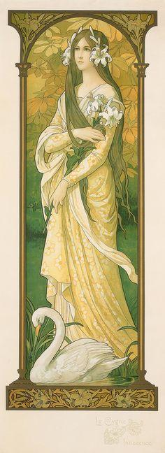 "PEACOCK'S GARDEN: Elisabeth Sonrel ""The Innocent Swan"""