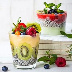 10 Rezepte für gesunde Low Carb Chia-Desserts