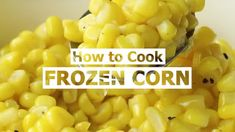 How to Cook Frozen Peas (the RIGHT way) | Favorite Family Recipes Frozen Corn, Frozen Peas, Family Recipes, Family Meals, Parmesan Baked Potatoes, Hawaiian Macaroni Salad, Crockpot Recipes, Cooking Recipes, Creamed Peas