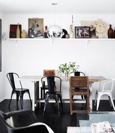 a swedish family home by the style files, via Flickr