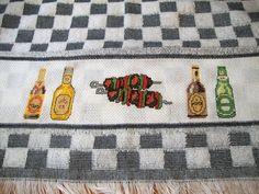 Bordados da Taty: Churrasco Ponto Cruz