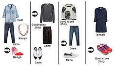 Quatro maneiras simples de actualizar um visual / Four easy ways to actualize a look