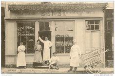 58/ Varsy  - Boulangerie Patisserie  Senet - Belle Devanture , Belle Animation Avec Livreur, Trés Belle Carte