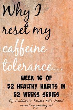 Assessing caffeine t