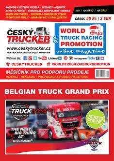 Český Trucker - monthly magazine for sales promotion