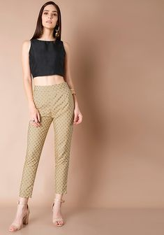 90c346478629dd 17 Best Indo Western Bottoms And Pants - Check Out Cigarette Pants ...