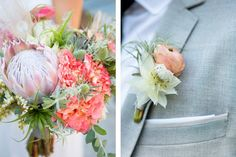 One Couple's Handcrafted-Chic Wedding at the SmogShoppe in Culver City, CA