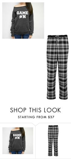 """Sleeping with Benjamin"" by maryvarleyrox ❤ liked on Polyvore featuring DKNY"