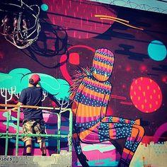 FleshBeck quebrando em Wynwood Miami 2013 !