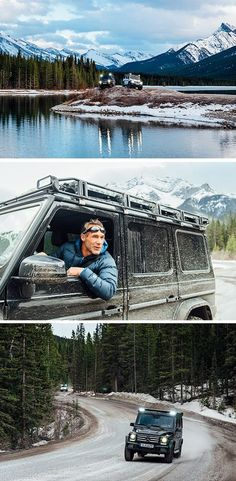 A new adventure: Mike Horn in a Mercedes-Benz G-Class! Check out the first impressions from his extensive equipment testing in western Canada. After daring the massive K2 in 2015's #DrivenToExplore journey, his next expedition will challenge the extreme athlete one more time. We'll keep you posted! #ExploreAlberta   Special thanks to Travel Alberta and Mercedes-Benz Canada! Photo courtesy of Chris Brinlee Jr.