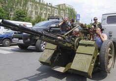 Фотогалерея автоматів, гранатометів і зенітних установок, якими воюють терористи в Україні