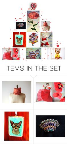 """Art with heart"" by laughingdog ❤ liked on Polyvore featuring art"