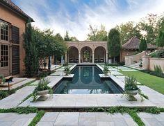 courtyard pool by mcalpine tankersley