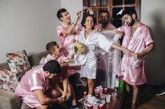 Cô dâu Brazil nhờ đồng nghiệp nam làm phù dâu