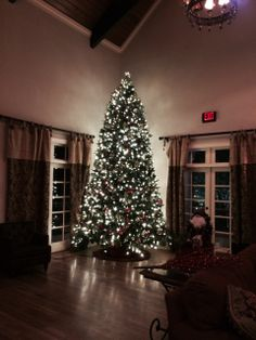 an hoa needed help with decorating a 14ft tree atlanta rental christmas