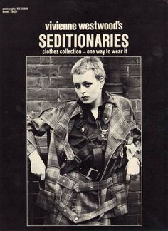 Vivienne Westwood's Seditionaries catalog, 1977