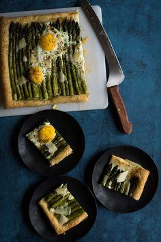This asparagus egg t