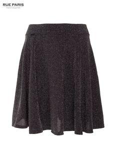 Spódnica srebrny Spódnice PartyLook Rue Paris \ Spódnice i sukienki \ spódnice Butik 142788