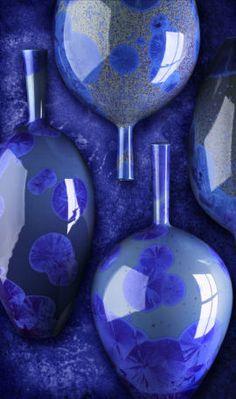 Blue | Blau | Bleu | Azul | Blå | Azul | 蓝色 | Color | Form | Texture | Richard…