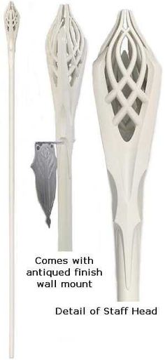 United Cutlery - The Lord of the Rings - Staff of Gandalf the White