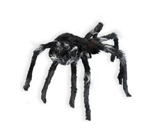 Black Widow Spider Animated Jumping Halloween Prop Web Haunted House LED Lighted