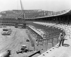 ~ Dodger Stadium Construction