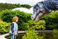 Dinosaurs: summer holidays 2016 - Eden Project, Cornwall