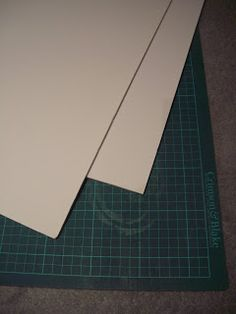 Working with Foamboard - The Basics